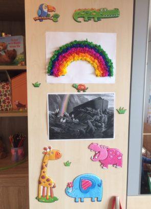 Mein bunter Regenbogen - Gott passt auf uns auf