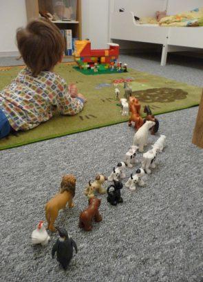 Arche Noah in der Andachtszeit: DIe Tiere kommen!